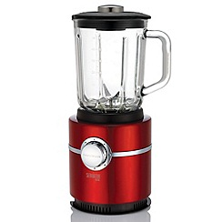 Morphy Richards - Red 'Accents' serrator blade blender 403000