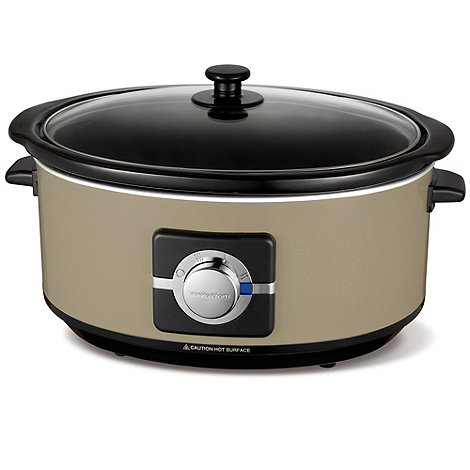 Morphy Richards - Barley +Accents+ 6.5l slow cooker - Exclusive to Debenhams 461002