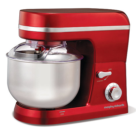 Morphy Richards - +Accents+ 400003 red food mixer