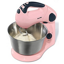 Breville - Pink 'Pick & Mix' VFP058 food mixer