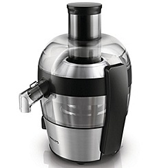 Philips - Black HR1836/01 compact juicer