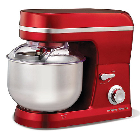 Morphy Richards - Red +Accents+ 400003 food mixer