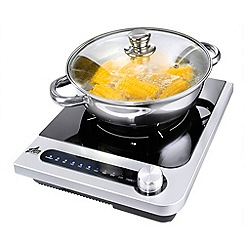 Team - Silver IHP5M 'Easicook' induction hob and cooking pot