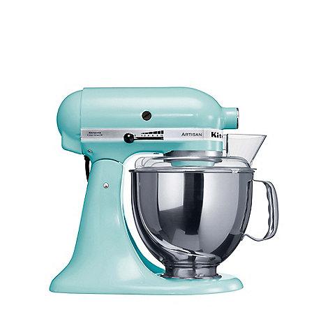 KitchenAid - Blue +Artisan+ stand mixer 5KSM150PSBIC