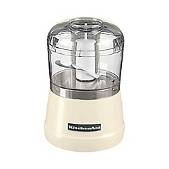 KitchenAid - Almond cream 5KFC3515BAC mini food chopper
