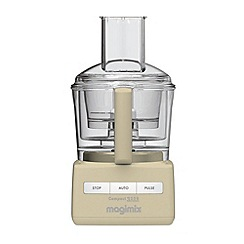 Magimix - Debenhams Exclusive:Magimix Cream 3200 Blendermix Food Processor 18329