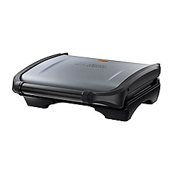 George Foreman - Black 5 portion family grill 19920