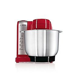 Bosch - Red 3.9L kitchen machine MUM48R1GB