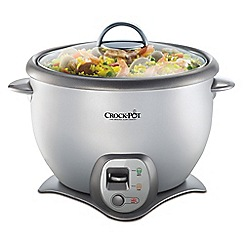 Crock-Pot - Grey 2.2L sauté rice cooker CKCPRC6040