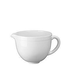 KitchenAid - White 4.8L Ceramic Bowl