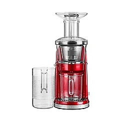 KitchenAid - Red Artisan maximum extraction slow juicer