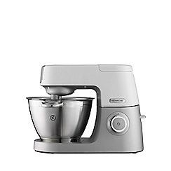Kenwood - Silver and white 'Chef Sense' stand mixer KVC5000T
