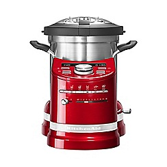 KitchenAid - Artisan cook processor empire red