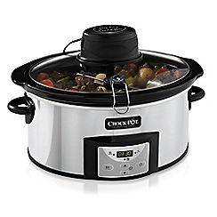 Crock-Pot - 5.7L AutoStir slow cooker CSC012