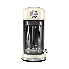 KitchenAid - Artisan magnetic drive blender almond cream