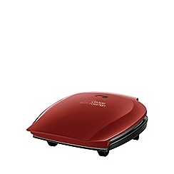 George Foreman - 5 portion family grill in red 18872