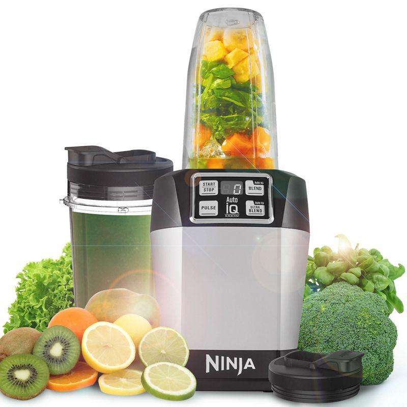Nutri Ninja - Silver 'Auto-Iq Personal' Blender Bl480
