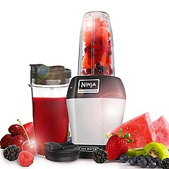 Nutri Ninja - Silver Drink and Smoothie maker BL450UK