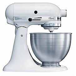 KitchenAid - White Classic Stand 4.3L Mixer K45SS