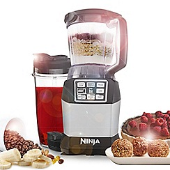 Nutri Ninja - Compact Kitchen System with Nutri Ninja BL490UK