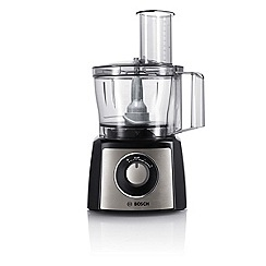 Bosch - Black brushed food processor MCM3501MGB