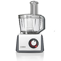 Bosch - White food processor 1000w MCM62020GB