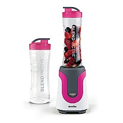 Breville - Pink blend active blender and smoothie maker VBL134