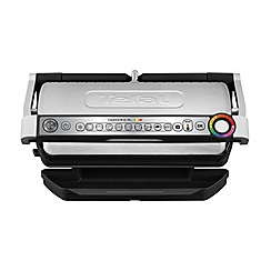 Tefal - OptiGrill+ XL health grill stainless steel GC722D40