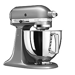KitchenAid - Artisan' Contour Silver stand mixer 5KSM125BCU