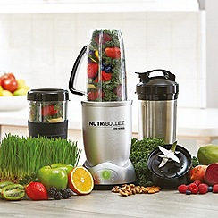 Nutribullet - Metallic magic bullet max 12 piece blender