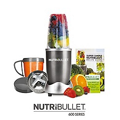 Nutribullet - 600 Series 8 Piece Set, Grey