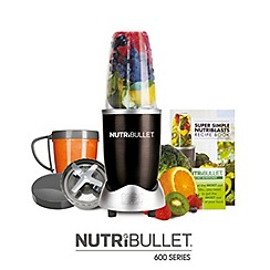 Nutribullet - Black magic bullet 600 series 8 piece juicer blender NBLBK10
