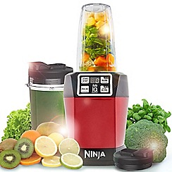 Nutri Ninja - Drink and Smoothie maker Auto IQ  Metallic Red BL480UKMR
