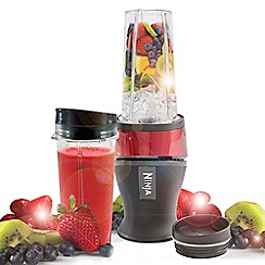 Nutri Ninja - Red slim blender QB3001UKMR