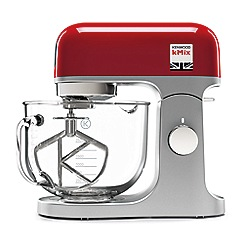 Kenwood - Red kmix stand mixer KMX754RD