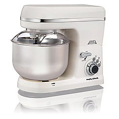 Morphy Richards - White total control stand mixer 400015