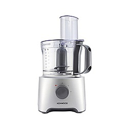 Kenwood - Silver multipro compact Food Processor FDP301SI