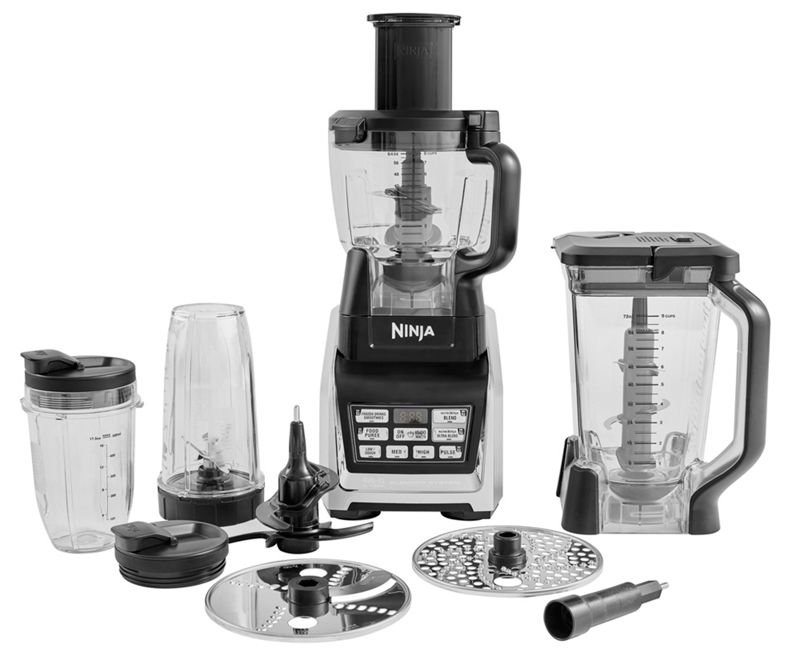 Nutri Ninja - Silver Food Processor Bl682uk2
