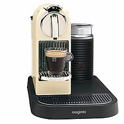 Magimix - Nespresso 'CitiZ & Milk' M190 Cream coffee machine by Magimix