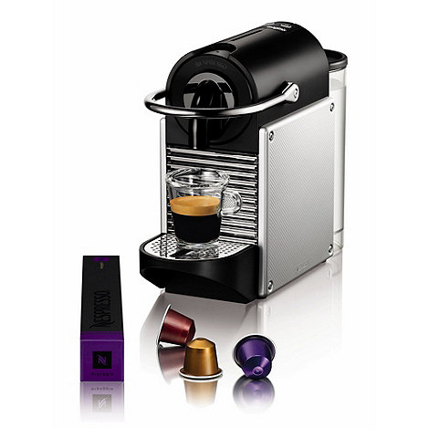 Nespresso - Aluminium +Pixie+ coffee machine by Magimix 11322