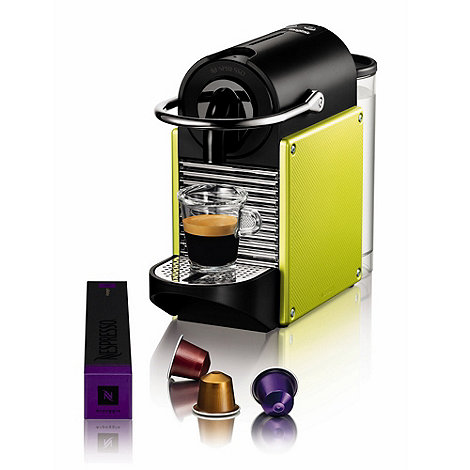 Magimix - Nespresso +Pixie+ 11320 Lime green coffee machine by Magimix