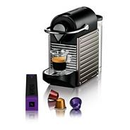 Nespresso 'Pixie' XN300540 Titanium coffee machine by Krups