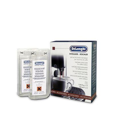 DeLonghi Coffee machine natural descaler Debenhams