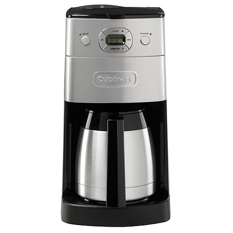 Cuisinart - Grind & Brew+ DGB650BCU Silver bean-to-cup coffee machine