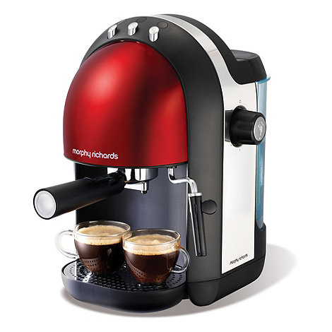 Morphy Richards - Meno 47586 Red espresso coffee machine