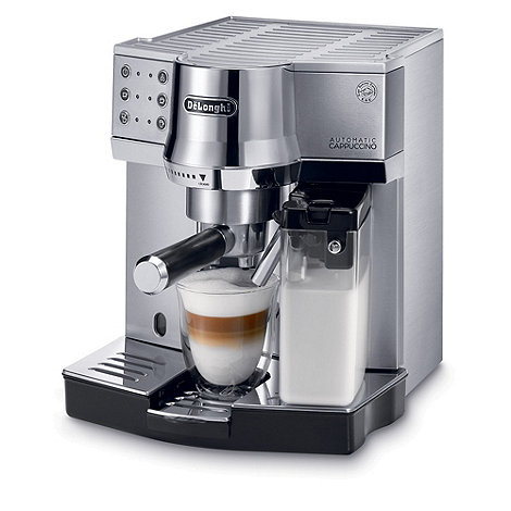 DeLonghi - C850 Stainless steel espresso machine with milk function
