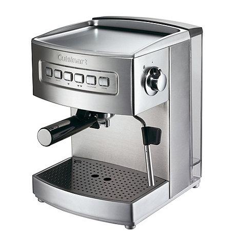 Cuisinart - EM200U Brushed stainless steel espresso coffee machine