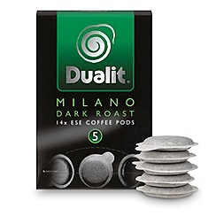 Dualit - 'Milano Dark Roast' coffee pods - 14 servings