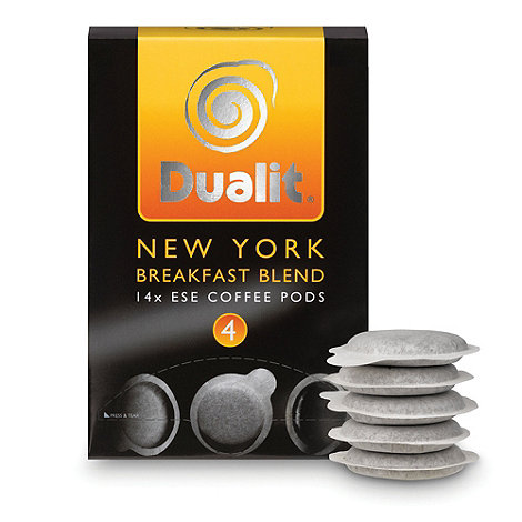 Dualit - +New York Breakfast Blend+ coffee pods - 14 servings