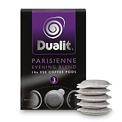 Dualit - 'Parisienne Evening Blend' coffee pods - 14 servings